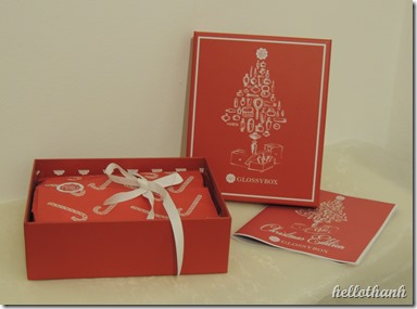 Glossybox Dezember (2)